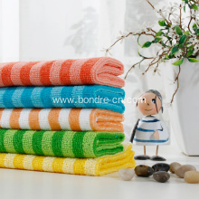Microfiber Cleaning Towels With Stripes