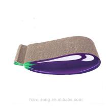 Hot Selling Cat Curve Scratching Pad Cat Scratcher Board files nails With Catnip CS-3025