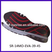 SR-14MO-EVA-39-45 sports eva shoes sole outsole material eva eva rubber sole shoe men running eva shoe sole