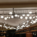 Крупногабаритные люстры для фойе из медных стеклянных бусин Ball.