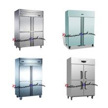 Cozinha de luxo Cozinha com congelador ereto