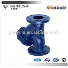 GL41H carbon steel Y type water strainer for oil and water