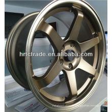 15/16/17/18 inch beautiful 4/5/6 // 8 trous 114.3mm réplique roue de voiture de sport