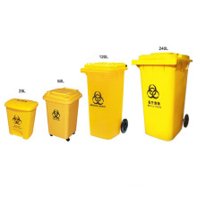 Biohazard Marked Medical Waste Bin