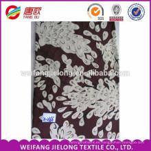 Tela floral impresa rayón 100% para la ropa, vestido