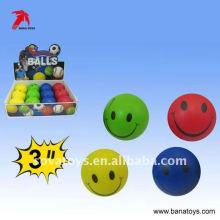 7.5cm esponja stress pu bola