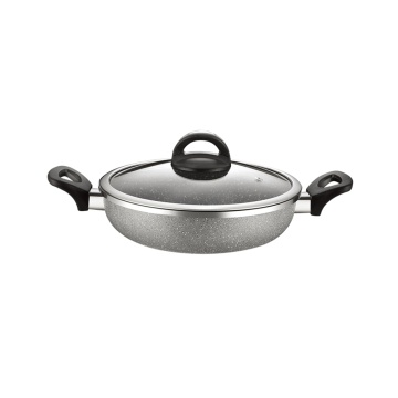Marmorbeläggning Auminum Non-stick Coating Cookware Set