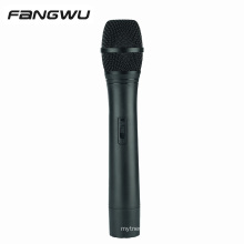 Hot Selling Lip Synch R eplica Black Plastic F ake Mic Microphone Prop