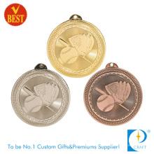 Aleación de zinc personalizada de alta calidad que sella el producto de la serie de la medalla de béisbol de China