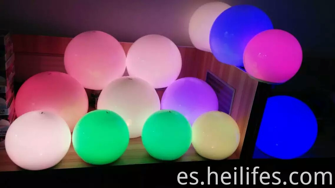 Led Crystal Magic Colorful Ball Light