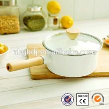 China fabricante de ferro fundido esmaltado cozinhar pote rolamento
