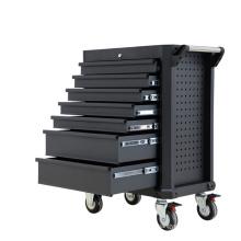 Solução de armazenamento de ferramentas profissionais de metal preto