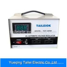 SVC-D display digital totalmente automático estabilizador de tensão AC regulador-500W