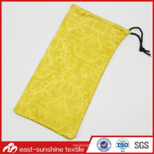 Promocional Soft Microfiber Cell Phone Drawstring Pouch