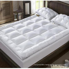Microfiber Filled Peach Skin Bed Mattress Topper