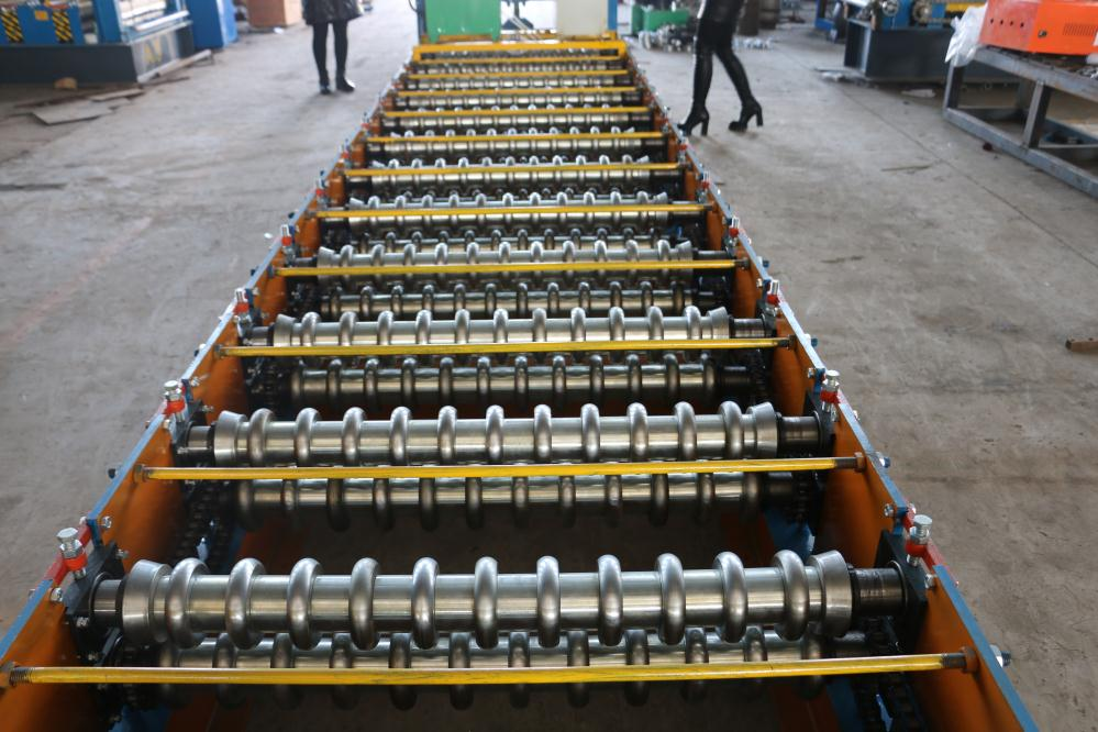 Metal Roofing Sheet Corrugating Roll Forming Machine