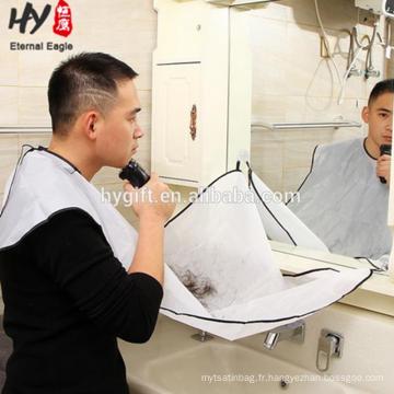 Tablier de barbe de bavoir de tablier de polyester d'hommes durables faits sur commande à vendre