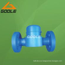 Trampa de vapor A105 de disco de temperatura de alta presión con brida (GAHR / GARW / GAHRF)