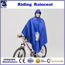 Waterproof Hooded Raincoat Poncho Cover Protector for Motorcycle Scooter