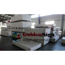 Weißes Plastik-PVC-Schaum-Blatt, PVC-Forex-Blatt, PVC-Celuka-Blatt