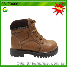 Boy High Heel Imitation Leather Boots
