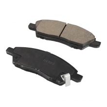 D1592 D1060-ED500  No noise car spare parts brake pads production line ceramic brake pads for Nissan