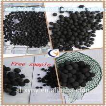 Fornecer alta qualidade baixo preço Carbão a base de carvão esférico / pellet ativado Caron