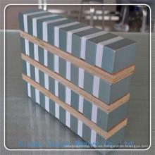 N38 Imán de neodimio de bloque grande para la máquina de la industria