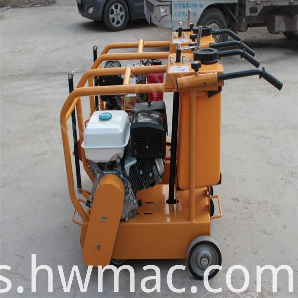 gasoline road cutting machine