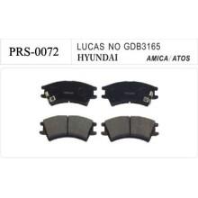 Semi-metallic auto disc brake pad for HYUNDAI ATOS