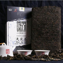China Hunan Baishaxi grau 2 chá escuro