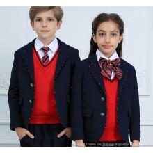 Hochqualitätsschule Uniform Winter Grundschule Uniform für Fabrik