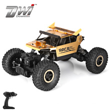 DWI 1:18 rc rock crawler 4 wheel drive vehicle 2.4G with rechargeable 5 functions remote control car
