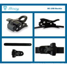BC25B-BL15A Micro ajustável sapato de sapato aperto fivela gravata