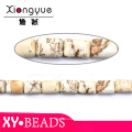 Fashion Print Semi Precious Stone Necklaces Beads