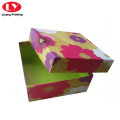 custom colorful paper gift box scarf box packaging