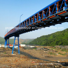 Tubular Belt Conveyor for Grains, Sea Port, Mining, Power, Chemical, Cement etc
