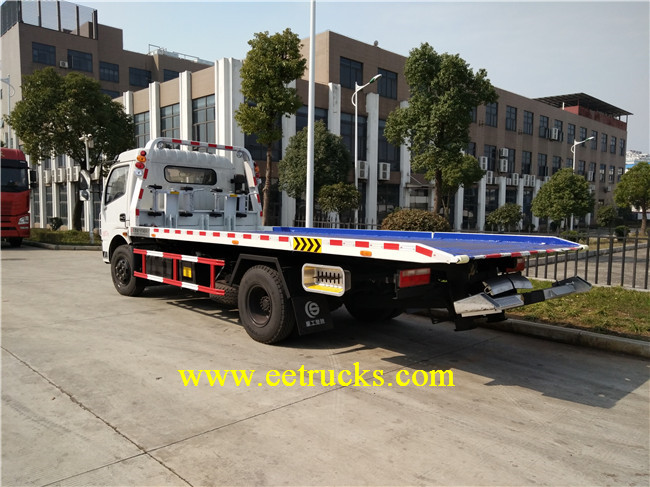 5 Ton Car Carrier Recovery Trucks