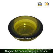 Green Printed Round Tealight Candle Holder for Party Decor