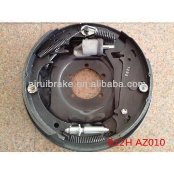 """12"""" caravan hydraulic brake plate dacromet 3500kg"""