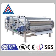China Upward Brand Belt Filter Press Fabricant d'équipement