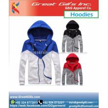 Hot sale custom made fleece / cotton warn winter hoodie