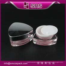 Top Sell Vazio 15g Amostra Cream Frasco e acrílico Cosméticos Containers
