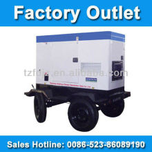 25kva Soundproof Portable Diesel Generator Set