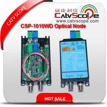 Catvscope Csp-1010wd FTTH Wdm 2 Saídas Receptor Ótico / Optical Nod