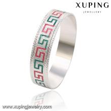 51470 brazalete simple de la joyería fresca del rodio de la moda con para las mujeres en la aleación de cobre