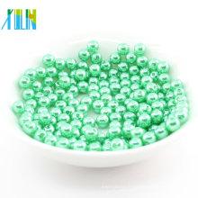 Vente chaude lâche pourrait customizeabs perles en plastique rondes 3mm
