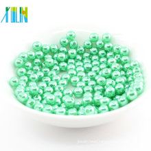 Hot sale loose could customizeabs plastic beads round 3mm
