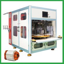 Full auto electric motor stator coil winding machine