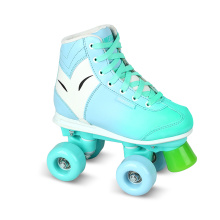 Soft Boot Quad Roller Skate for Kids (QS-39)